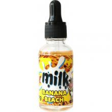 E-жидкость Milk - Banana beach (Банана бич) 0 мг/30 мл