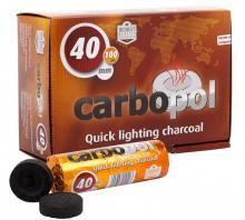 Уголь - Карбопол 40 мм 1 таблетка