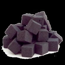 Уголь - Краун (премиум) 15 шт 22x22x22