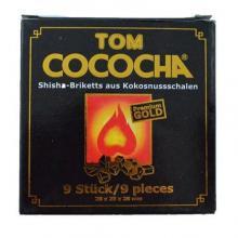 Уголь - Tom Cococha (желтый) 9 кубиков
