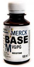 Основа VapeBase Merck  60/40 VGPG 0мг/100мл