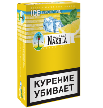 Nakhla New 50г - Ice Lemon + Mint (Освежающий Лимон и Мята)